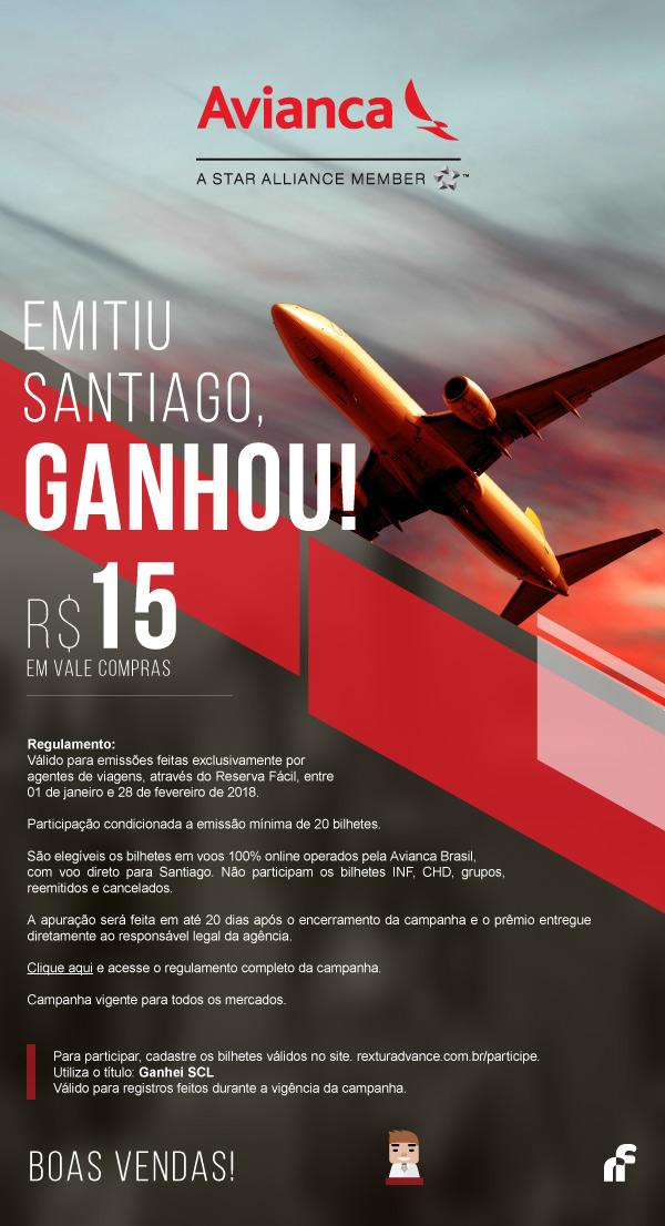 Emitiu Santiago, Ganhou!